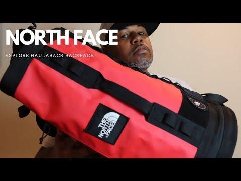 North Face Explore Haulaback Backpack One Bag Travel Hidden Gem!