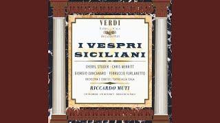 I Vespri Siciliani, Act I: Ah fuggi! fuggi! io tel comando ... Temerario! qual ardire!...