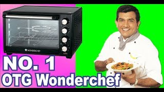 Wonderchef 28 Litre Oven Toaster Grill with Convection and Rotisserie Black