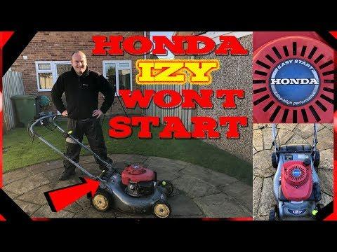 How To Service A Honda Petrol Lawnmower – Repairing