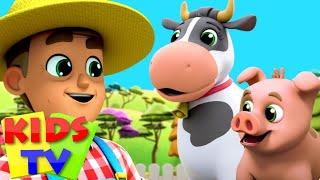 У старого Макдональда была ферма | развивающий мультфильм | Kids Tv Russia | потешки