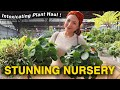 BREATHTAKING NURSERY TOUR & HOUSEPLANT HAUL | ROLLING GREENS | NEW ADDITION TO PLANT COLLECTION 2019