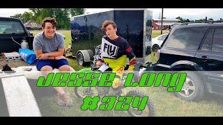 Jesse Long #324 at Medina County Fair Motocross 2018