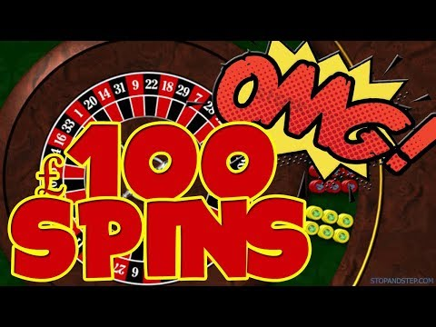 £100 SPINS!! Bookies Roulette