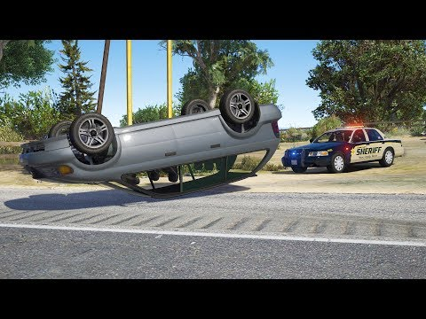 LSPDFR - Day 714 - Rollover accident plus kidnapping