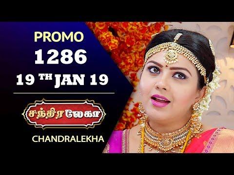Chandralekha Promo 19-01-2019 Sun Tv Serial  Online