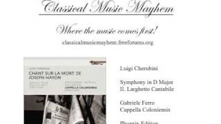 Cherubini - Symphony in D Major: II. Larghetto Cantabile