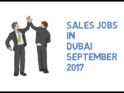 Sales Jobs in Dubai 2017