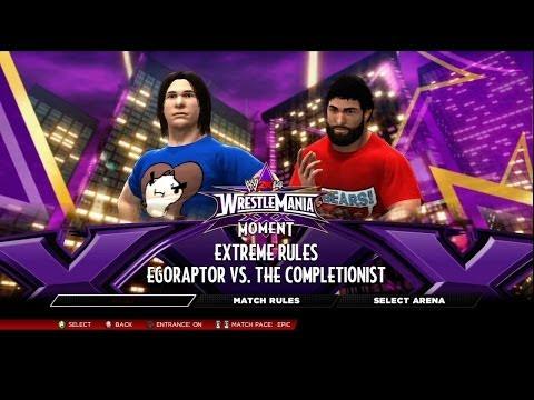 WWE 2K14 - YouTube Tournament (Preliminaries) - 05 - Egoraptor Vs. The Completionist