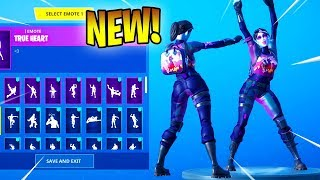 *NEW* Fortnite Dark Bomber Skin With Dance Emotes!! (Showcase)