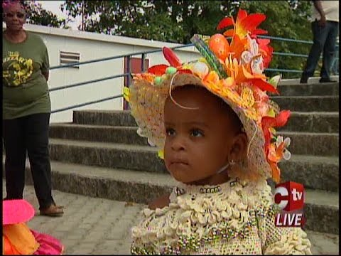 Easter Bonnet Parade In Arima