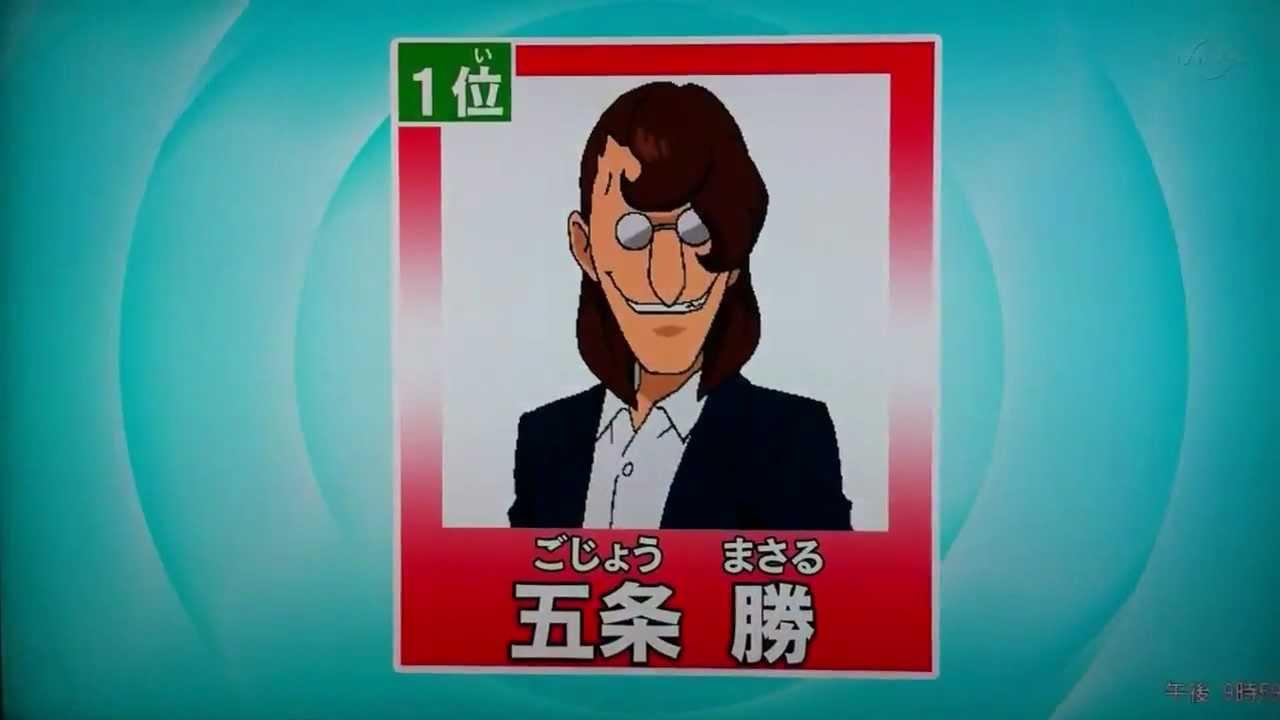 イナズマgo キャラクター人気投票 結果 テレビ放送 Youtube