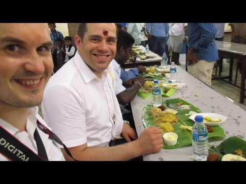 food at an indian wedding tamil nadu