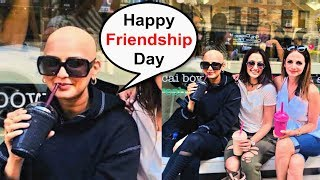 Sonali Bendre Goes Bald For Cancer Treatment On Friendship Day