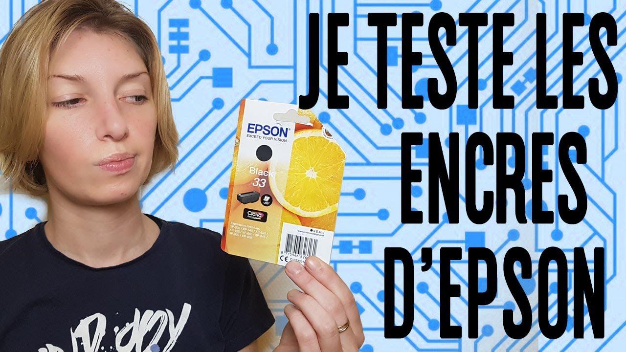 L'Obsolescence Programmée - Je teste les cartouches d'EPSON