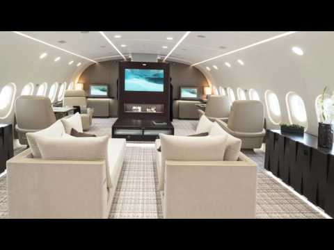 Pimp My Jet - The Boeing 787 Dreamliner - 2,400 SQ FT Of Luxury