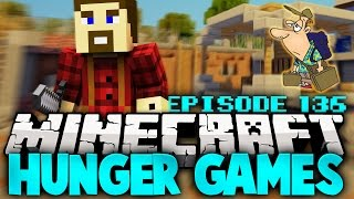 "Minecraft Hunger Games: ""Intense Laggy Game!"" - Ep 136"