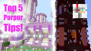 Gambar cover Minecraft: Top 5 Tips for Purpur Builds