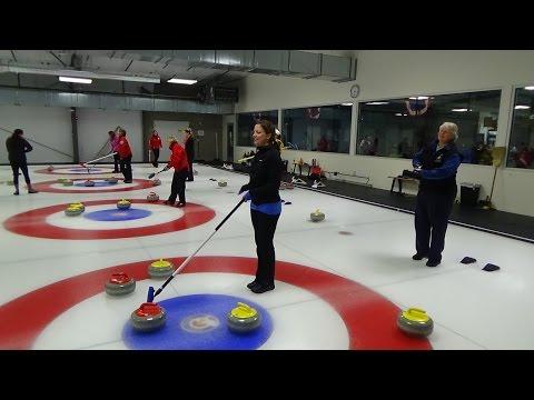 Margaritas Curling Club Championship Game.