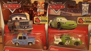 Mattel Disney Cars 2016 Case Q Otis James Cleanair (Vitoline #61)