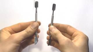Как заточить пушер для кутикулы своими руками маникюр