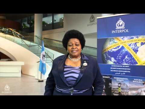 Bomo Edna Molewa, Minister of Environmental Affairs, South Africa