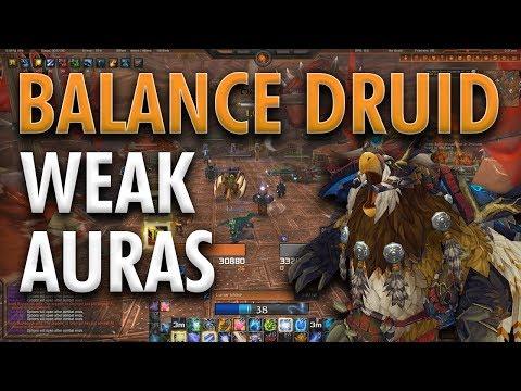 BFA BALANCE DRUID UI & WEAK AURAS | DOWNLOAD IN DESCRIPTION!!
