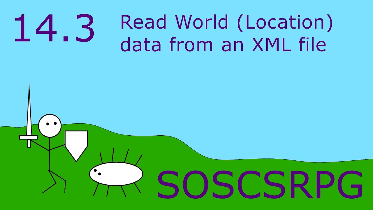 Lesson 14 3: Read World (Location) data from an XML file