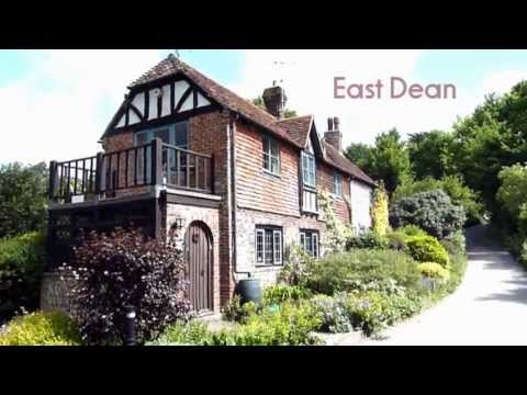 Friston forest & the village of East Dean
