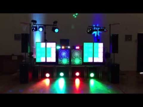 skip alexander the wedding disco lights screens sound you