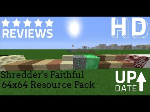 Shredder's Faithful 64x64 HD Resource/Texture Pack Review for Minecraft 1.6.2/1.6.4 - TrinityPvP
