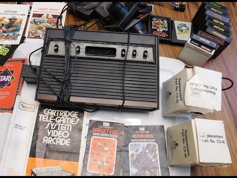 junkman-finds---atari-vcs/sears-video-arcade-and-vintage-kawasaki-brochure