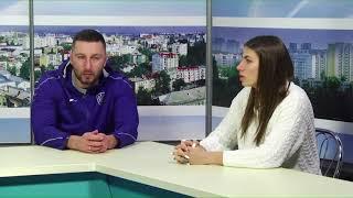 Марина Бех та Вадим Крушинський у програмі Спортцентр