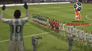 FIFA 18 - RUSIA 2018 - SEMI FINAL - ARGENTINA VS MEXICO