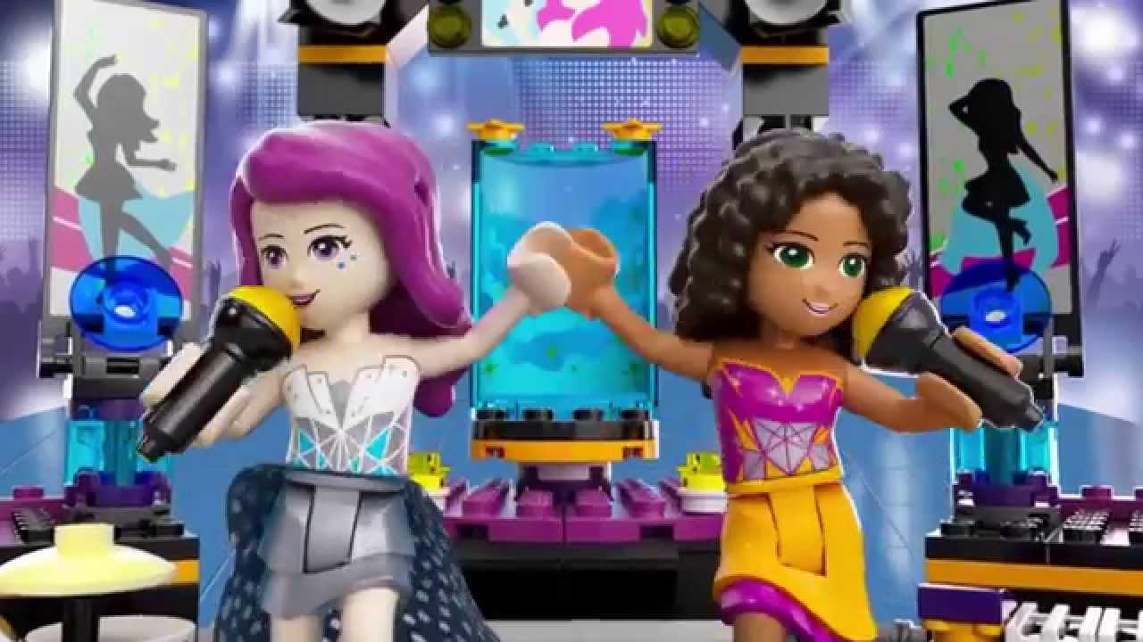 Scena De Spectacol A Vedetei Pop 41105 Lego Friends Youtube