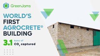 World's First Agrocrete® Building: Mason Testimonials