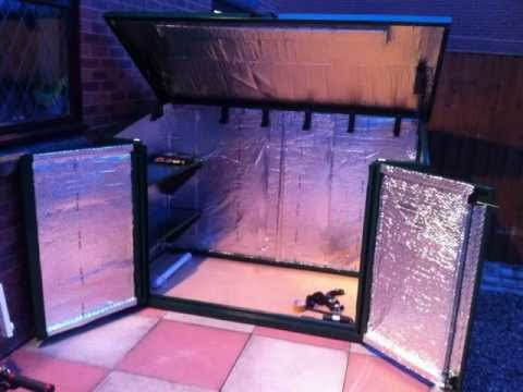 Building a bike shed - The Asgard Access Bike Shed with Insulation!