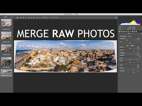 RAW Panorama Merge With Photoshop CC | Photography Tips