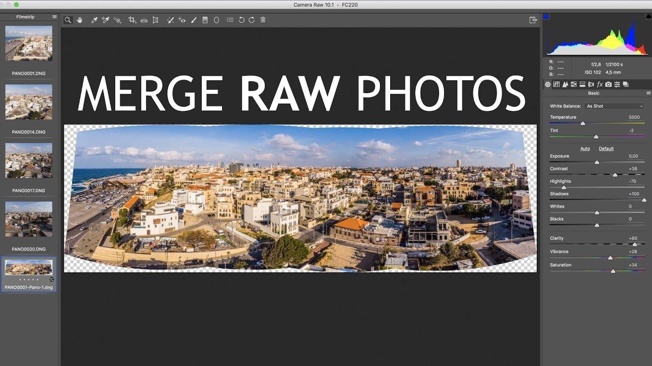 Combine photos in photoshop cc