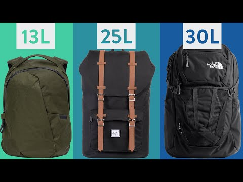 Ultimate Backpack Size Guide - What Size Backpack Do I Need for School, Work, or Commuting?
