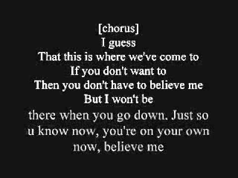 Believe Me-Fort Minor Lyrics
