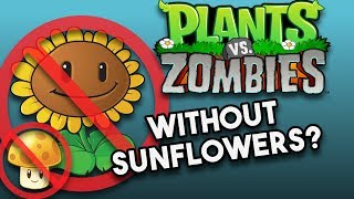 Is it Possible to Beat Plants Vs. Zombies Without Sunflowers? (No Sunflower Challenge) thumbnail