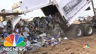 Growing Number Of Cities Suspending Recycling Programs Over Rising Costs | NBC Nightly News