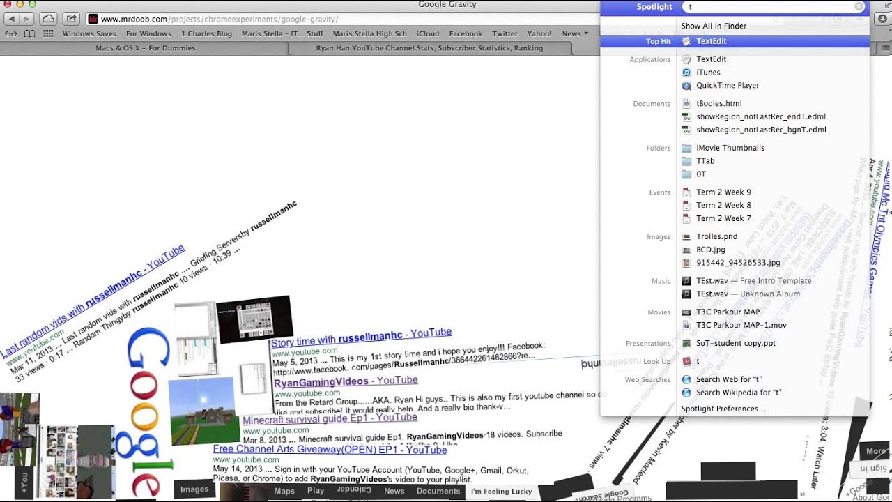 MrDoob Awesome Google Tricks! - YouTube