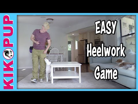 Fun EASY Heelwork Game