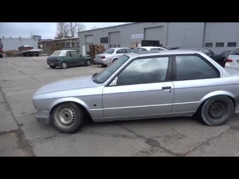 E30 with m62b44 and Magnaflow rear muffler