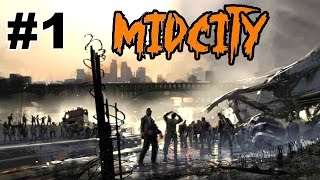 ZOMBIES in the CITY on Midcity with SPIDER