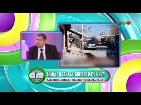 Armas en casa: habla el presiedente de ALUTARA - AM