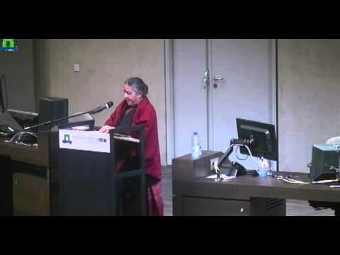 Vandana Shiva, University of Wageningen, Netherlands