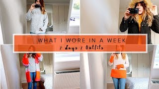 WHAT I WORE IN A WEEK + ASOS VOUCHER GIVEAWAY (WITH CHARLOTTE TAYLOR)